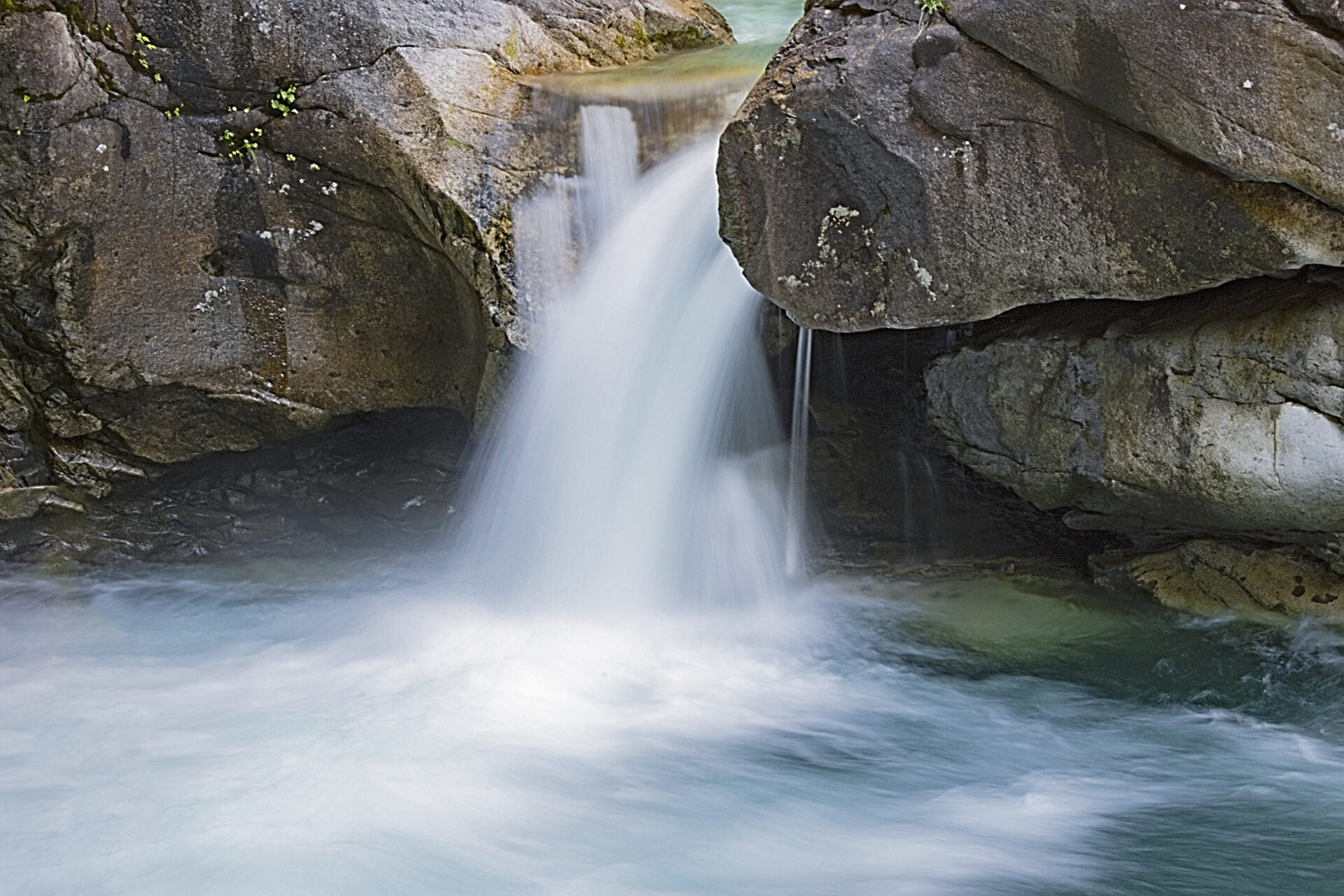 Waterfall in Skwellepil Creek/Chehalis Lake, July 10, 2021